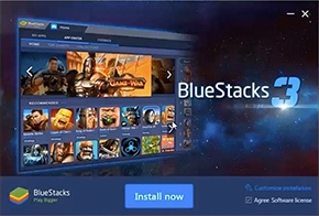 BlueStacks 3 App Player Latest Version v3.54.65 Free Download For Windows