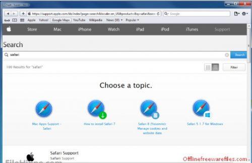 offline safari browser