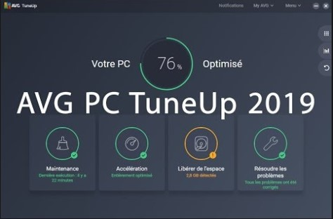 Download AVG PC TuneUp 2019 Offline Installer for Windows PC