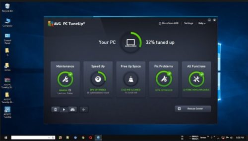 AVG PC TuneUP Utilities offline installer