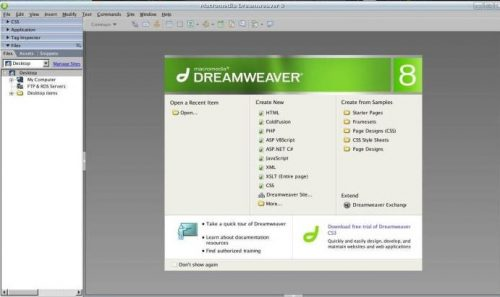dreamweaver step 2