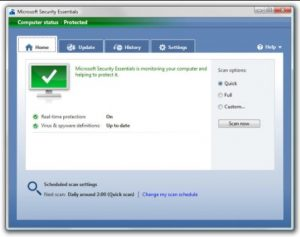 Download Microsoft Security Essentials v4.10 Offline Installer For Windows