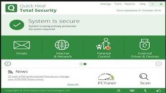 quick heal total security offline installer