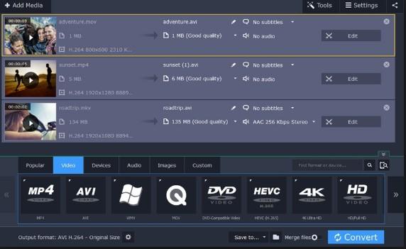 Movavi Video Converter Download for PC
