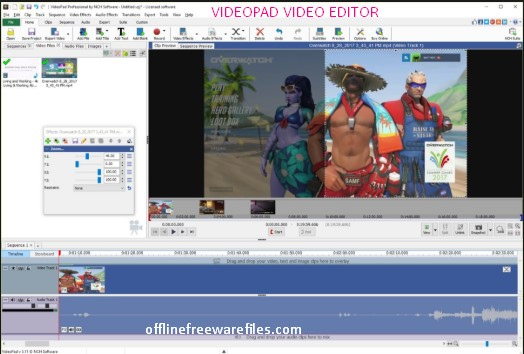 videopad video editor software for pc