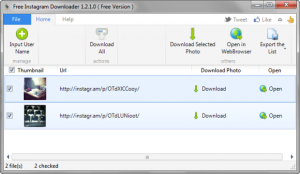 Download Instagram Downloader Latest Version v2.3.0 For Windows