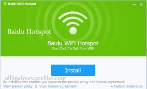 Baidu WiFi Hotspot v5.1.4 Download for Windows XP/Vista/7/8/10