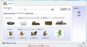 Download Realtek High Definition Audio Driver v2.82 for Windows