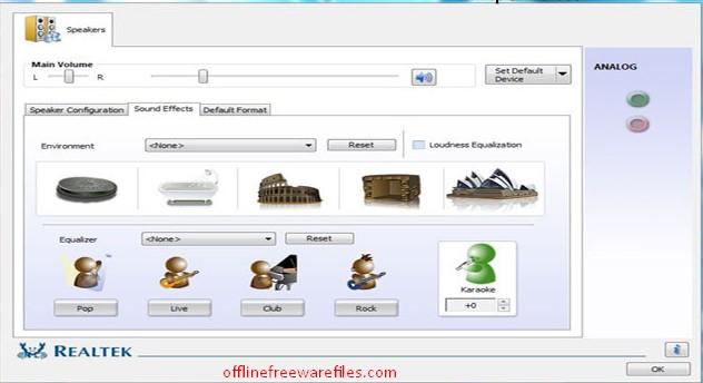 realtek audio high definition driver