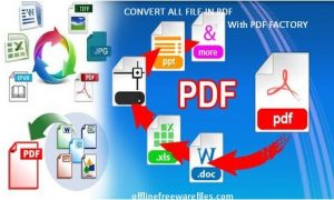 Download PDFfactory Latest Version v7.05 (2019) for Windows