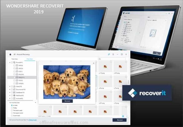 wondershare recoverit for windows pc