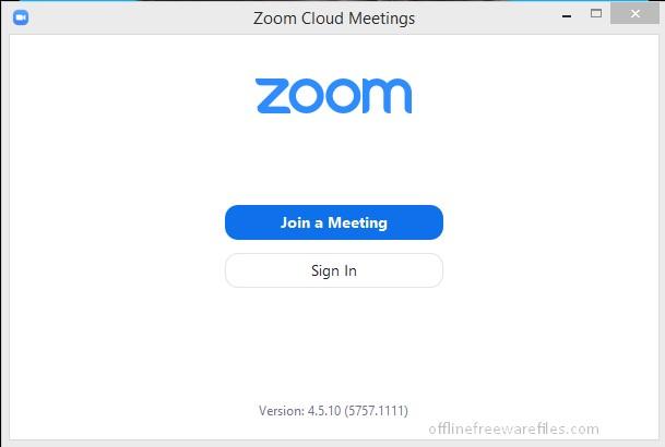 zoom offline installer for pc