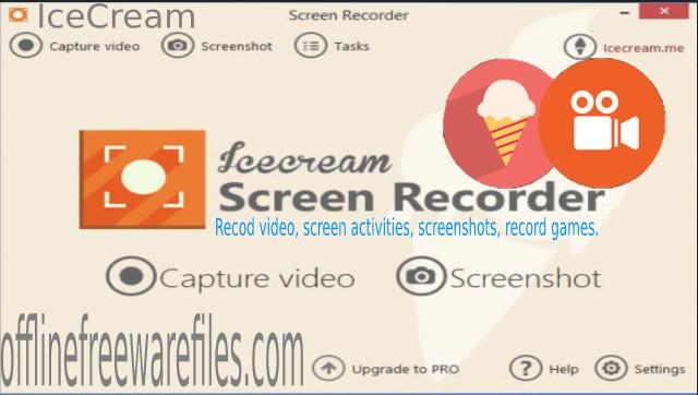 icecream screen recorder offline installer
