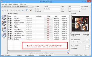 Download Exact Audio Copy v1.3 (Latest 2020) Offline Installer for Windows