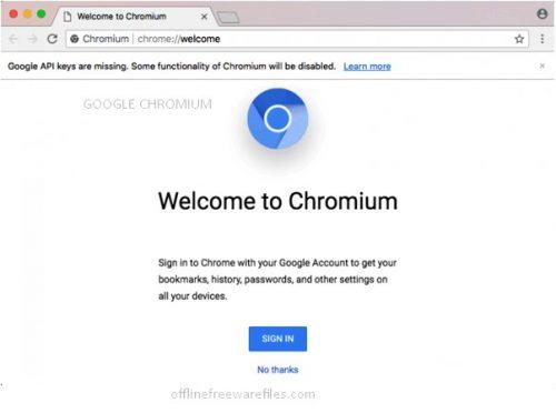 google chromium browser