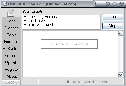 usb virus scanner for pc