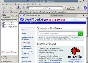 Download SeaMonkey Web Browser [ latest 2020] Offline Installer For Windows