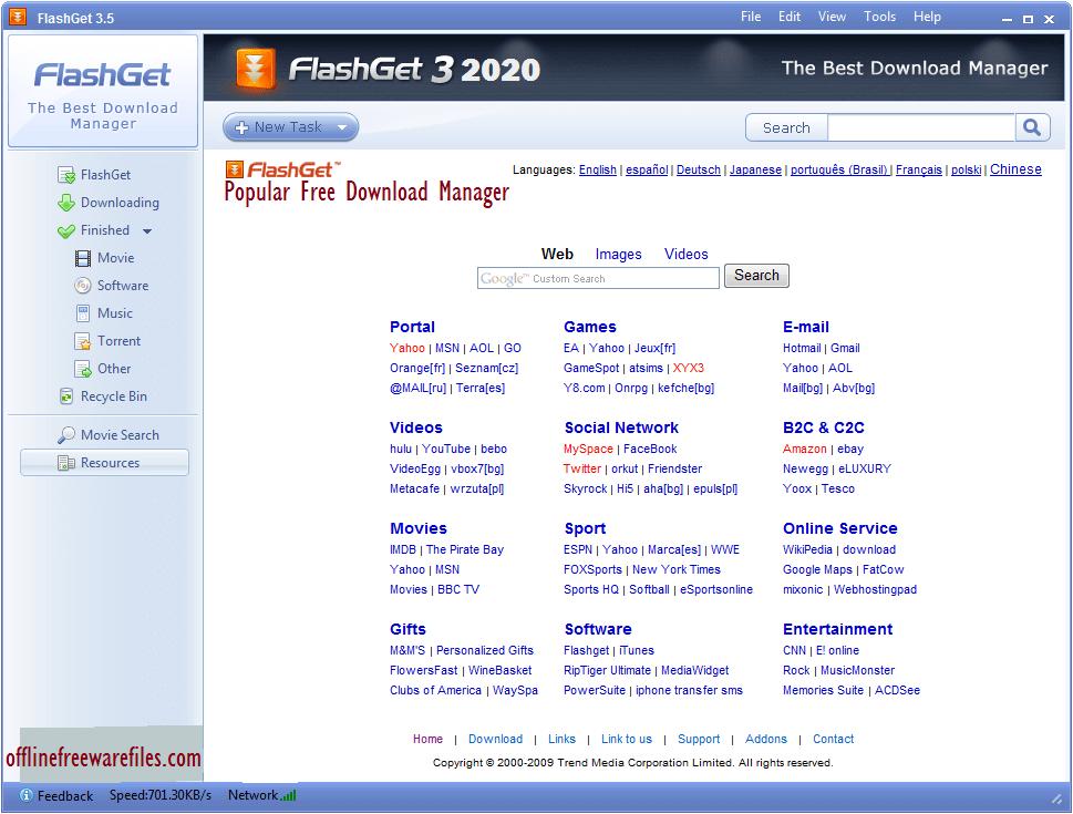 flashget offline installer