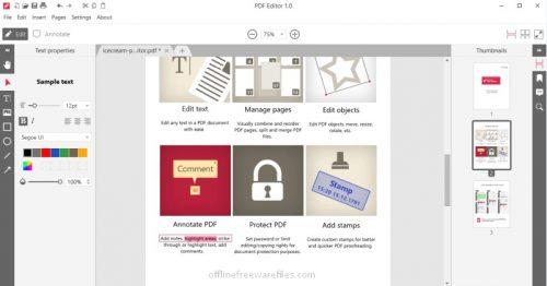 icecream pdf editor offline installer.png