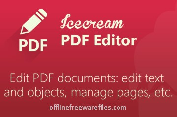 Download IceCream PDF Editor Latest Version v2.10 for Windows PC
