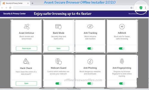 avast secure browser offline installer