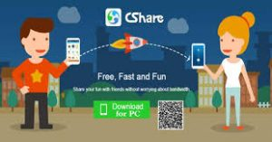 download cshare file transfer app