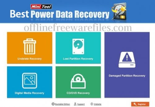 power data recovery tool