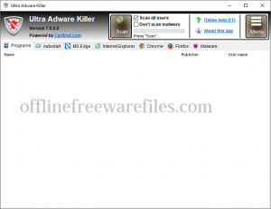 ultra adware removal tool download