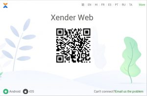 download xender pc