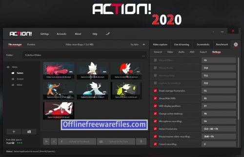mirillis action free download