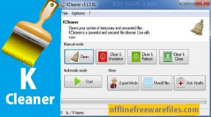 KC Softwares KCleaner Download