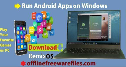 remix os player offline installer