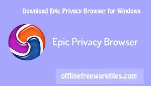 epic browser offline installer