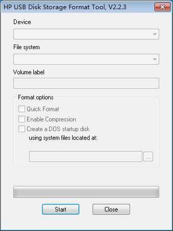 usb format tool