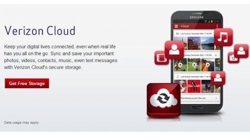 verizon free cloud
