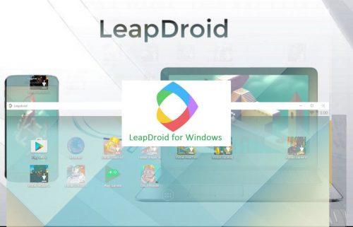 Download Leapdroid Emulator Offline Installer for Windows