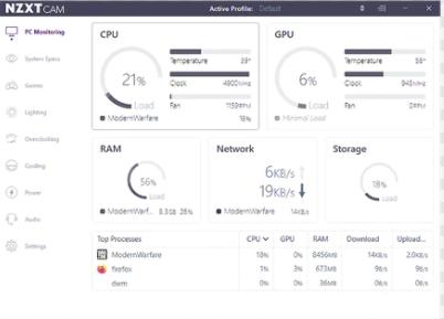 Download NZXT CAM Offline Installer For Windows