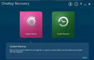 download lenovo onekey recovery latest for windows